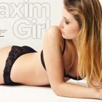 Gatas QB - Gabriella Brooks Maxim Girl Maxim Portugal Abril 2013