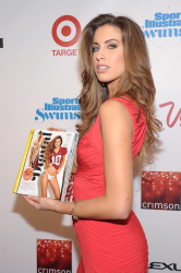 adfR1d1b Katherine Webb ~ 2013 Sports Illustrated Swimsuit Launch Party / NYC, Feb 12 candids