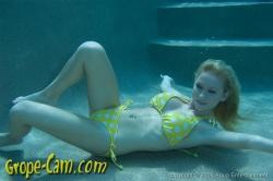 Holly madison underwater