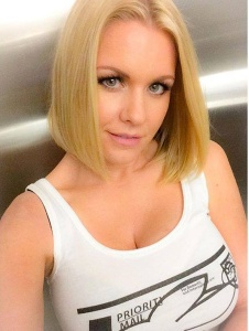 Carrie Keagan Priority Mail Boobs Facebook Pic