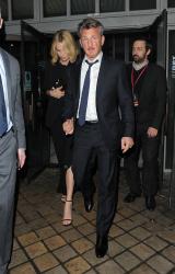 Sean Penn - Charlize Theron and Sean Penn - seen leaving Royal Festival Hall. London - February 16, 2015 (153xHQ) CBeQV0tZ