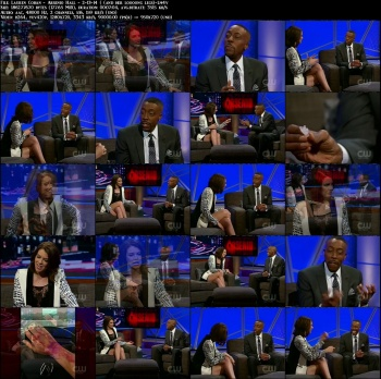 Lauren Cohan - Arsenio Hall - 2-13-14 ( and her loooong legs)