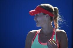 Kristina Mladenovic - 2016 Australian Open Practice Session @ Melbourne Park in Melbourne - 01/16/16