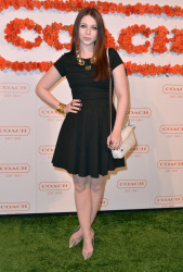 Michelle Trachtenberg - 3rd Annual Coach Evening to benefit Children's Defense Fund in Santa Monica 4/10/13