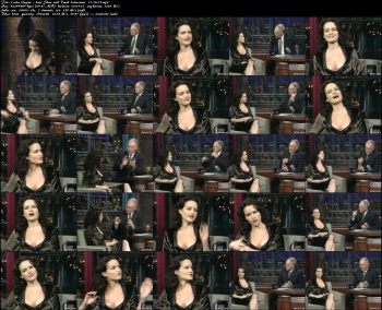 Carla Gugino - Late Show with David Letterman - 11-18-05
