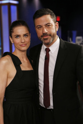 Amanda Peet - Jimmy Kimmel Live: April 3rd 2017