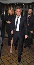 Sean Penn - Charlize Theron and Sean Penn - seen leaving Royal Festival Hall. London - February 16, 2015 (153xHQ) Jwushcs5
