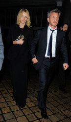 Sean Penn - Charlize Theron and Sean Penn - seen leaving Royal Festival Hall. London - February 16, 2015 (153xHQ) UcOcvRuP