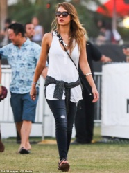 Jessica Alba - 2013 Coachella Valley Music & Arts Festival in Indio 4/20/13