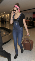 Nina Dobrev at LAX Airport (March 27) BauWeecH