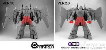 [Garatron] Produit Tiers - Gand of Devils G.O.D-01 Thunderstorm - aka Thunderwing des BD TF d'IDW SzoslRlC