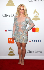 Britney Spears - Clive Davis Pre-Grammy Party in Los Angeles - February 11th 2017