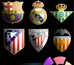 Premier league y liga bbva emblemas escudos