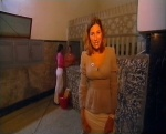 Konnie Huq & Liz Barker / Blue Peter circa 2002 / Bikinis in a Moroccan bath house