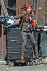 Карен Гиллан, фото 205. Karen Gillan - Set of 'Not Another Happy Ending' in Glasgow, Scotland - 7/20/12, foto 205