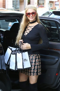 Paris Hilton - at Dan Deutsch and Anastasia Beverly Hills - February 22nd 2017