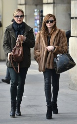 Chloe Moretz - out and about in Paris 2/25/13
