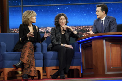 Jane Fonda & Lily Tomlin - The Late Show with Stephen Colbert: March 27th 2017