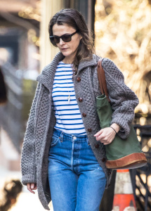 Keri Russell - Running Errands in New York - March 6th 2017