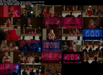 "Dianna Agron, Naya Rivera & Heather Morris perform ""Toxic"" on Glee - 3-18-14 (lingerie, cheerleader outfits)"