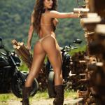 Gatas QB - Gabi Levinnt Revista Sexy Dezembro 2014