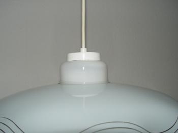 sch ne moderne esstischlampe deckenlampe k chenlampe wellenglas sch n ebay. Black Bedroom Furniture Sets. Home Design Ideas