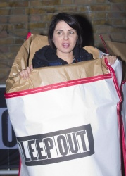 Sadie Frost - 2015 Sleep Out for Centrepoint @ The Old Truman Brewery in London - 11/12/15