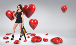 Michelle Keegan  -  Neale Haynes 'Heartbreaker' Photoshoot 2011 -  Tight Black Dress - x5HQ