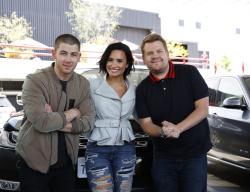 Demi Lovato - Carpool Karaoke with James Corden Promotional Photos