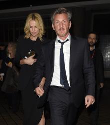 Sean Penn - Charlize Theron and Sean Penn - seen leaving Royal Festival Hall. London - February 16, 2015 (153xHQ) AfstWbEr
