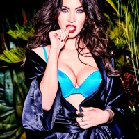 Megan Fox Frederick's of Hollywood lingerie