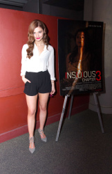Stefanie Scott - Insidious Chapter 3 Trailer Launch Event 3/17/15