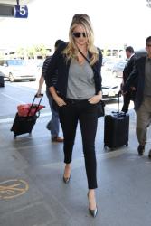 Kate Upton - At LAX Airport 7/27/15
