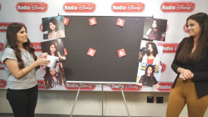 Selena Gomez Wearing Tight Pants on Radio Disney