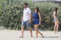 Nina Dobrev with her boyfriend Austin Stowell in Saint-Tropez (July 24) LHw6buyb