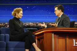 Uma Thurman - The Late Show with Stephen Colbert: February 20th 2017
