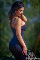 Дениз Милани, фото 5578. Denise Milani Black Dress 2 :, foto 5578