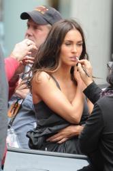 Megan Fox - Filming 'Teenage Mutant Ninja Turtles 2' in NYC 6/27/15