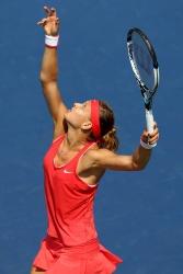 Lucie Safarova - 2015 US Open Day Two: 1st Round vs. Lesia Tsurenko @ BJK National Tennis Center in Flushing Meadows - 09/01/15
