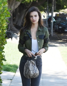 Emily Ratajkowski - Around Town in Los Angeles - February 24th 2017