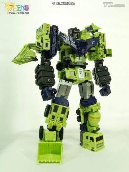 [Toyworld] Produit Tiers - Jouet TW-C Constructor aka Devastator/Dévastateur (Version vert G1 et jaune G2) - Page 7 PEZE1pZs
