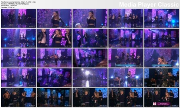 Ariana Grande - Ellen - 5-6-14 (sleek & sexy in black)