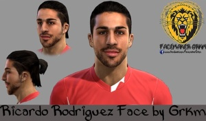 Download PES 2013 Ricardo Rodriguez Face by Grkm
