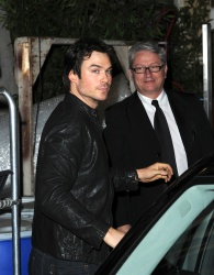 Ian Somerhalder - Arriving at Live with Kelly and Michael in NYC (March 13, 2013) - 18xHQ VTo4wBay