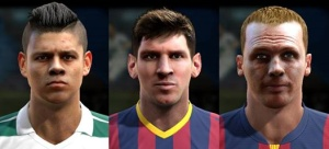 Download PES 2013 Mini facepack by MagicPro