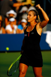 Dominika Cibulkova - 2015 US Open Day Three: 2nd Round vs. Jessica Pegula @ BJK National Tennis Center in Flushing Meadows - 09/02/15