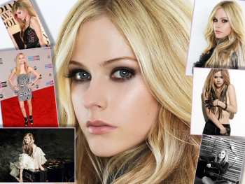 Avril Lavigne - Collage - Wallpaper - 1600 x 1200 - x 1