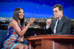 Gabrielle Union - The Late Show with Stephen Colbert: January 11th 2017