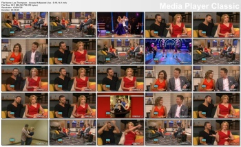 Lea Thompson - Access Hollywood Live - 9-18-14