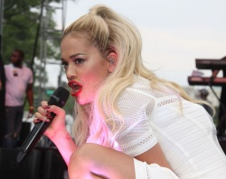 Rita Ora Performs At The 2014 Pride Parade In West Hollywood June 8 2014